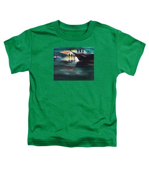 Fishing Line Toddler T-Shirt
