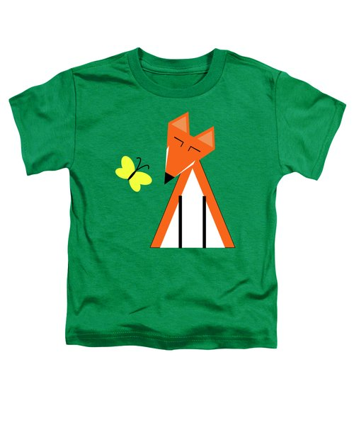 Foxes In Spring Toddler T-Shirt