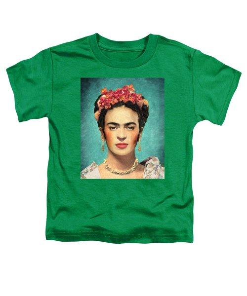 Frida Kahlo Toddler T-Shirt