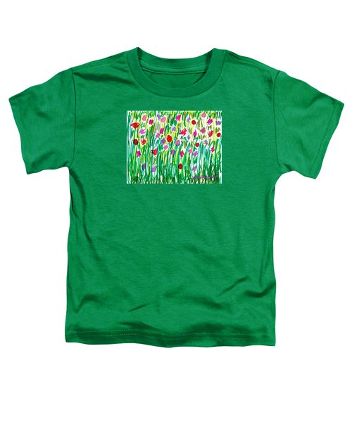 Garden Of Flowers Toddler T-Shirt