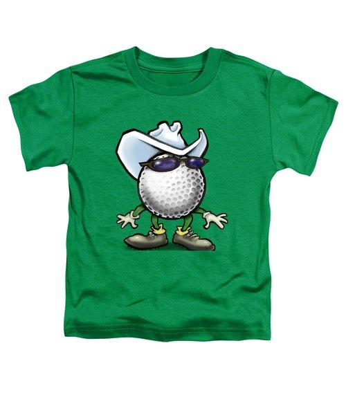 Golf Cowboy Toddler T-Shirt