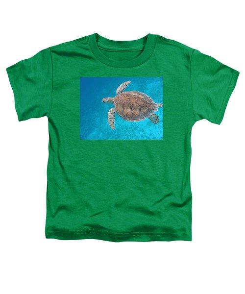 Green In Blue Toddler T-Shirt