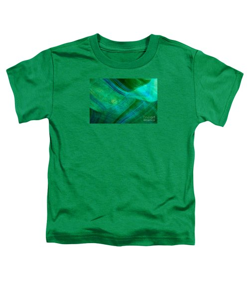Green Wave Toddler T-Shirt
