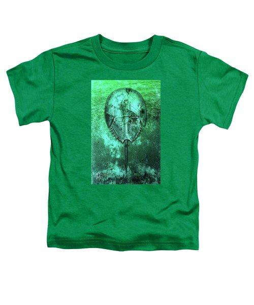 Toddler T-Shirt featuring the digital art Horseshoe Crab by Doug Schramm