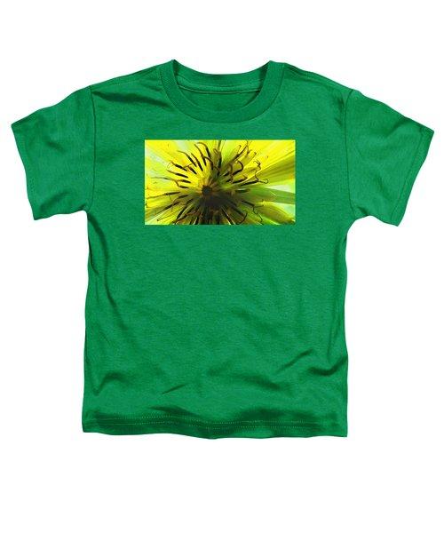 Inside A Yellow Goatsbeard  Toddler T-Shirt