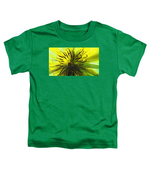 Inside A Yellow Goatsbeard  Toddler T-Shirt