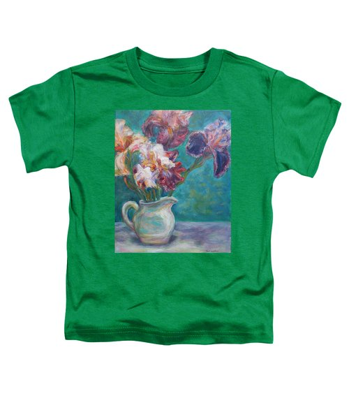 Iris Medley - Original Impressionist Painting Toddler T-Shirt