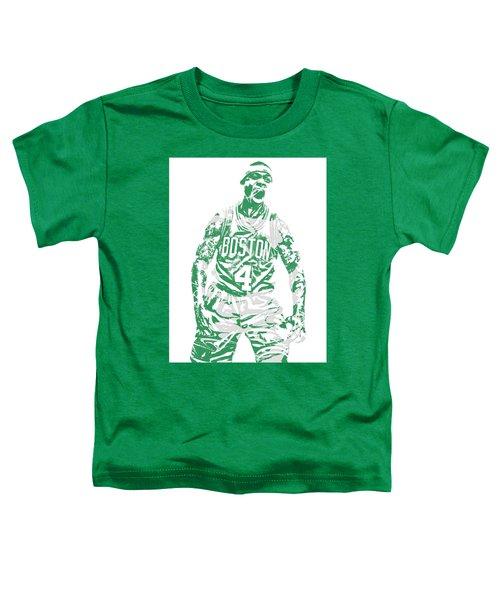 Isaiah Thomas Boston Celtics Pixel Art 16 Toddler T-Shirt