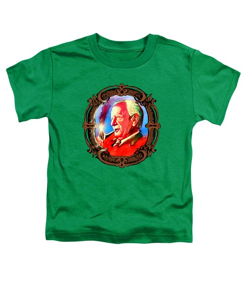 J. R. R. Tolkien With A Mount Doom Pipe  Toddler T-Shirt