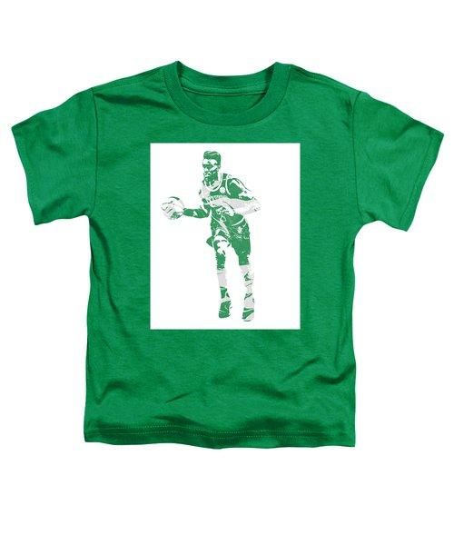 Jaylen Brown Boston Celtics Pixel Art 30 Toddler T-Shirt