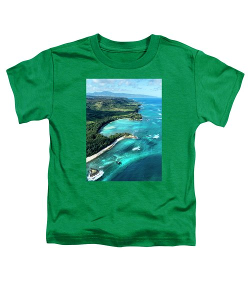 Kawela Bay, Looking West Toddler T-Shirt