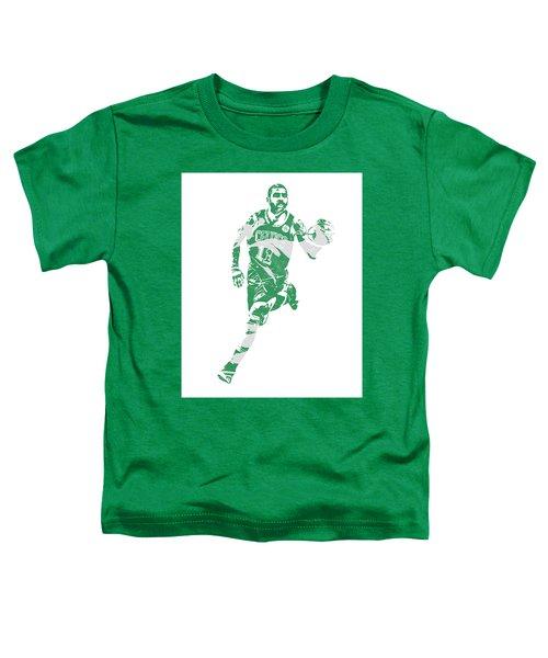 Kyrie Irving Boston Celtics Pixel Art 60 Toddler T-Shirt