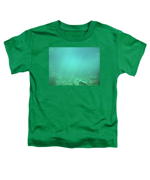 Toddler T-Shirt featuring the photograph Light In The Water by Francesca Mackenney