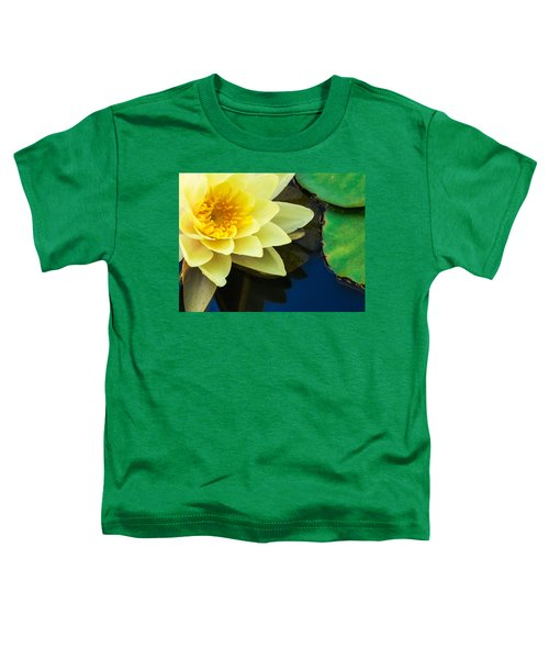 Macro Image Of Yellow Water Lilly Toddler T-Shirt