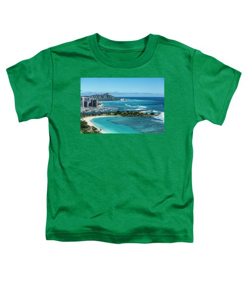 Magic Island To Diamond Head Toddler T-Shirt