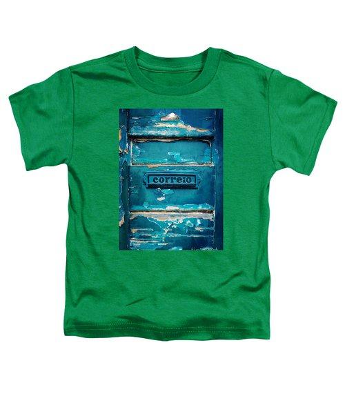 Mailbox Blue Toddler T-Shirt