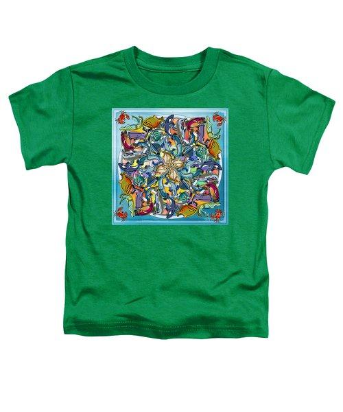 Mandala Fish Pool Toddler T-Shirt