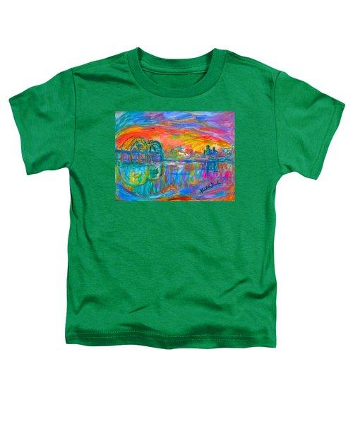 Memphis Spin Toddler T-Shirt