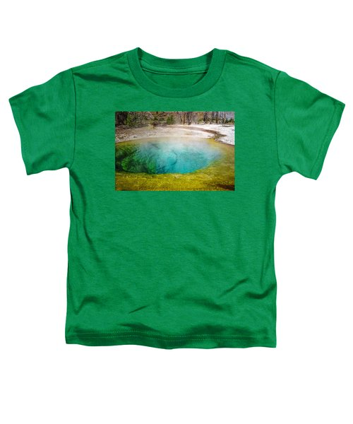 Morning Glory Pool Yellowstone National Park Toddler T-Shirt
