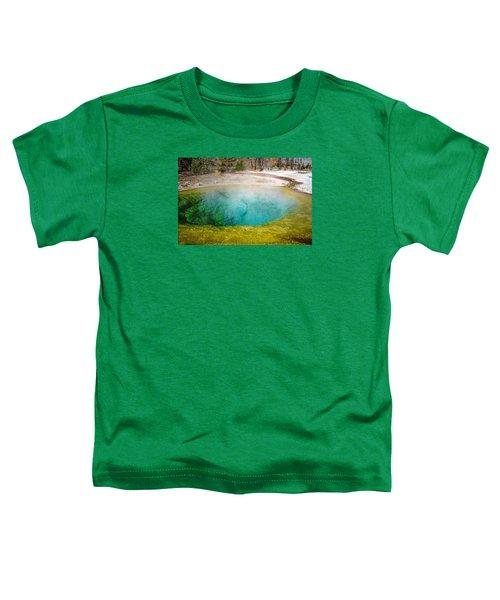 Morning Glory Pool Yellowstone National Park Toddler T-Shirt