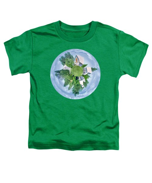 Nebraska Farm - Transparent Toddler T-Shirt