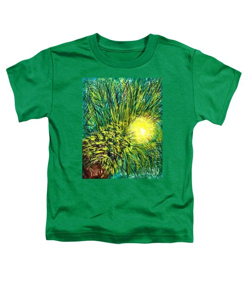 Palm Sunburst  Toddler T-Shirt
