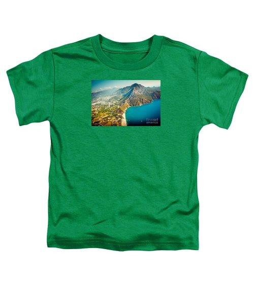 Paragliding Fly Above Laguna Artmif.lv Toddler T-Shirt