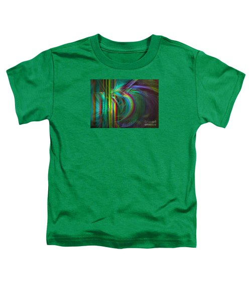 Penetrated By Life - Abstract Art Toddler T-Shirt