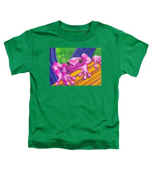 Pink Frog Toddler T-Shirt