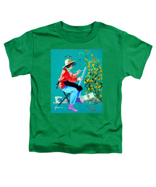 Plein Air Painter  Toddler T-Shirt