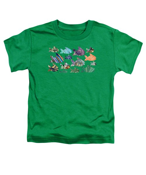 Fish In The Sea Toddler T-Shirt