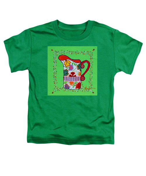 Pretty As A Pitcher Toddler T-Shirt