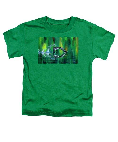 Rocket Feathers Toddler T-Shirt