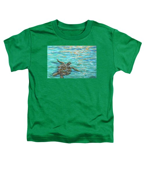 Sea Turtle Dream Toddler T-Shirt