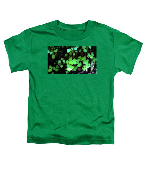 shamrocks #1A Toddler T-Shirt