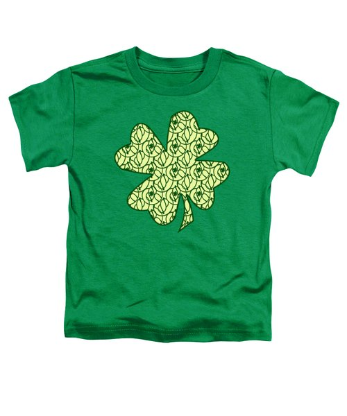 St. Patrick's Day Clovers Toddler T-Shirt