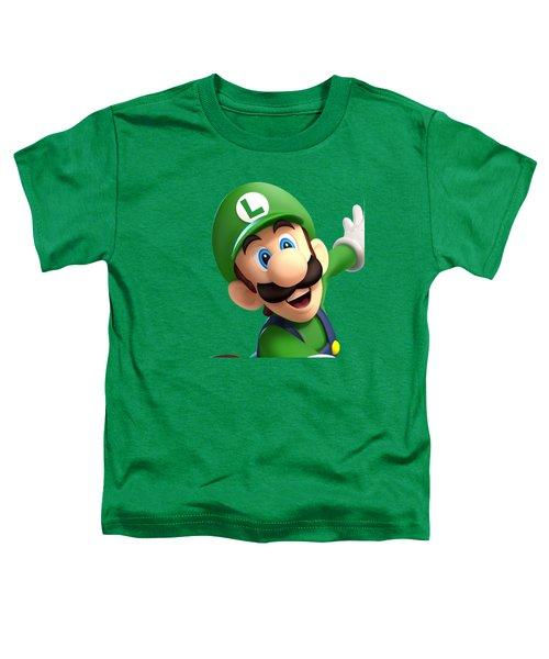 Super Luigi Art Toddler T-Shirt