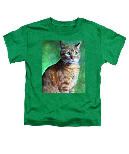 Tabby Cat Toddler T-Shirt