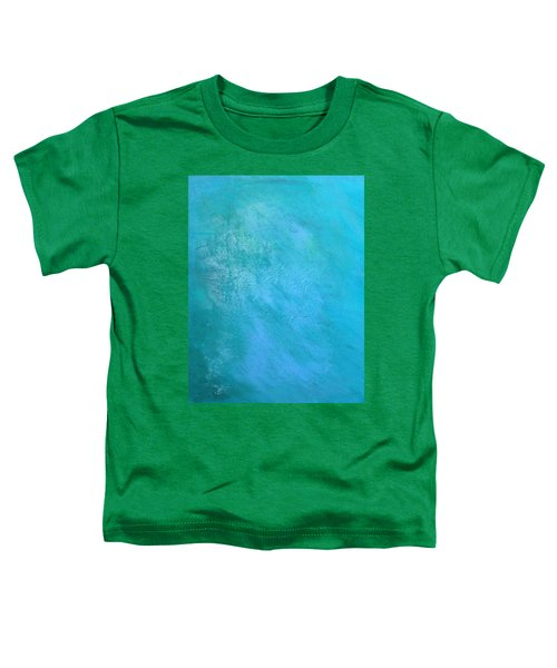 Toddler T-Shirt featuring the painting Teal by Antonio Romero