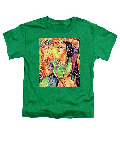The Dance Of Tara Toddler T-Shirt by Eva Campbell