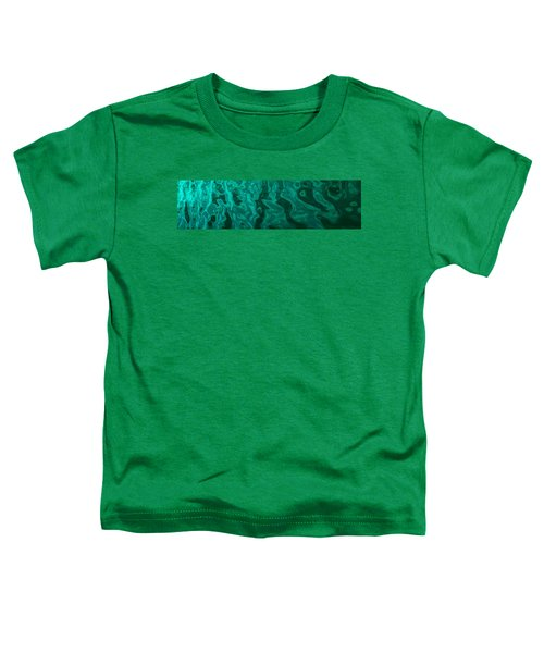 The Emerald Wave Toddler T-Shirt