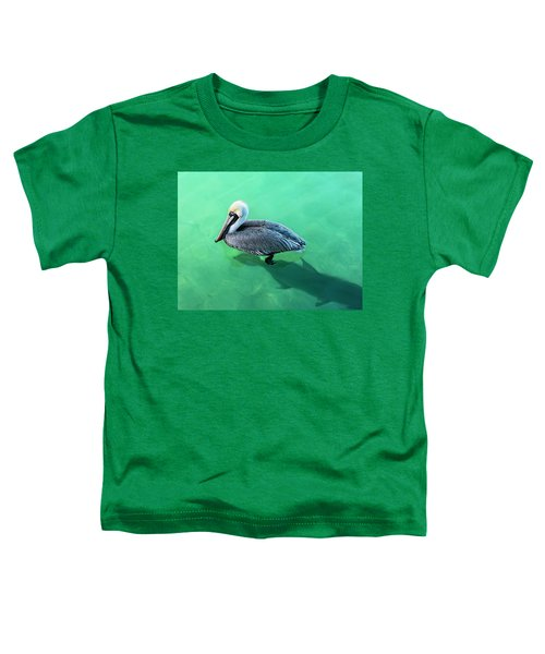 The Pelican And The Shark Toddler T-Shirt