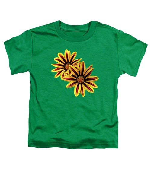 Treasure Flowers Painted Toddler T-Shirt