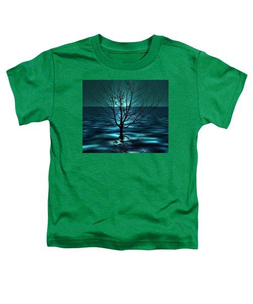 Tree In Ocean Toddler T-Shirt