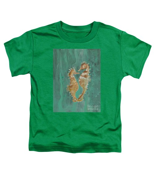 Two Seahorse Lovers Toddler T-Shirt