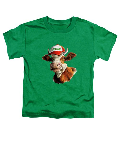 Vegan Toddler T-Shirt by Anthony Mwangi