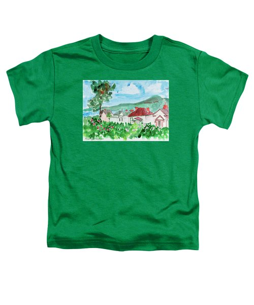 View From Battery Point Toddler T-Shirt