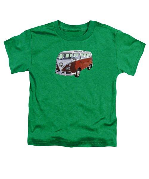 Volkswagen Bus 21 Window Bus  Toddler T-Shirt