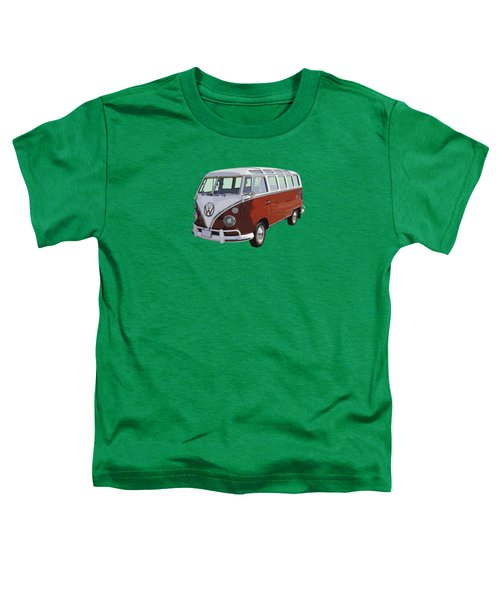 Volkswagen Bus 21 Window Bus  Toddler T-Shirt