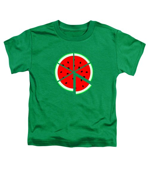 Watermelon Wedge Toddler T-Shirt